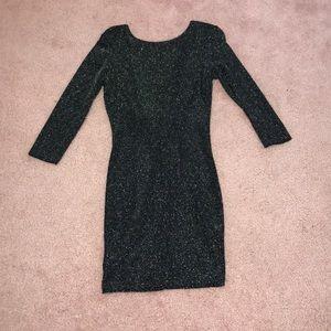 Sparkly bodycon dress